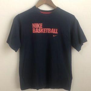 3/$25 Nike Basketball Navy boys Tee Shirt XL